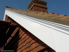Decorative bargeboard and soffit