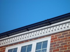 Georgian blocks, ogee-guttering