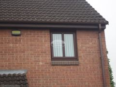 upvc rosewood fascia installation swindon