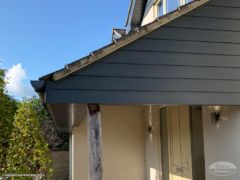 Anthracite Hardieplank cladding