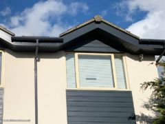 New anthracite fascias and soffits