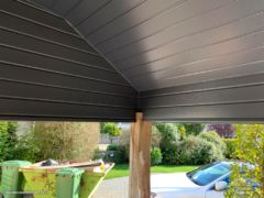 Anthracite UPVC cladding